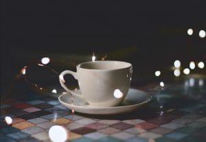 coffee invernal y luminoso